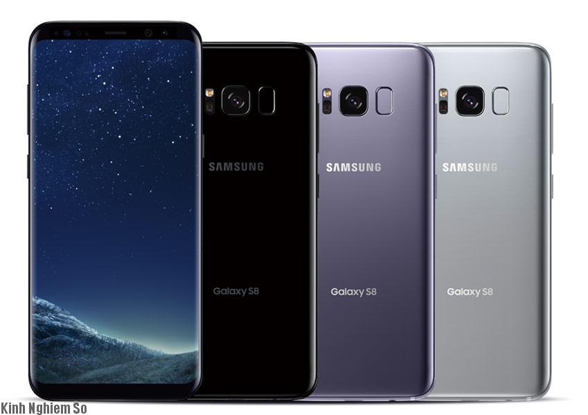 Galaxy S8 cong tràn cạnh