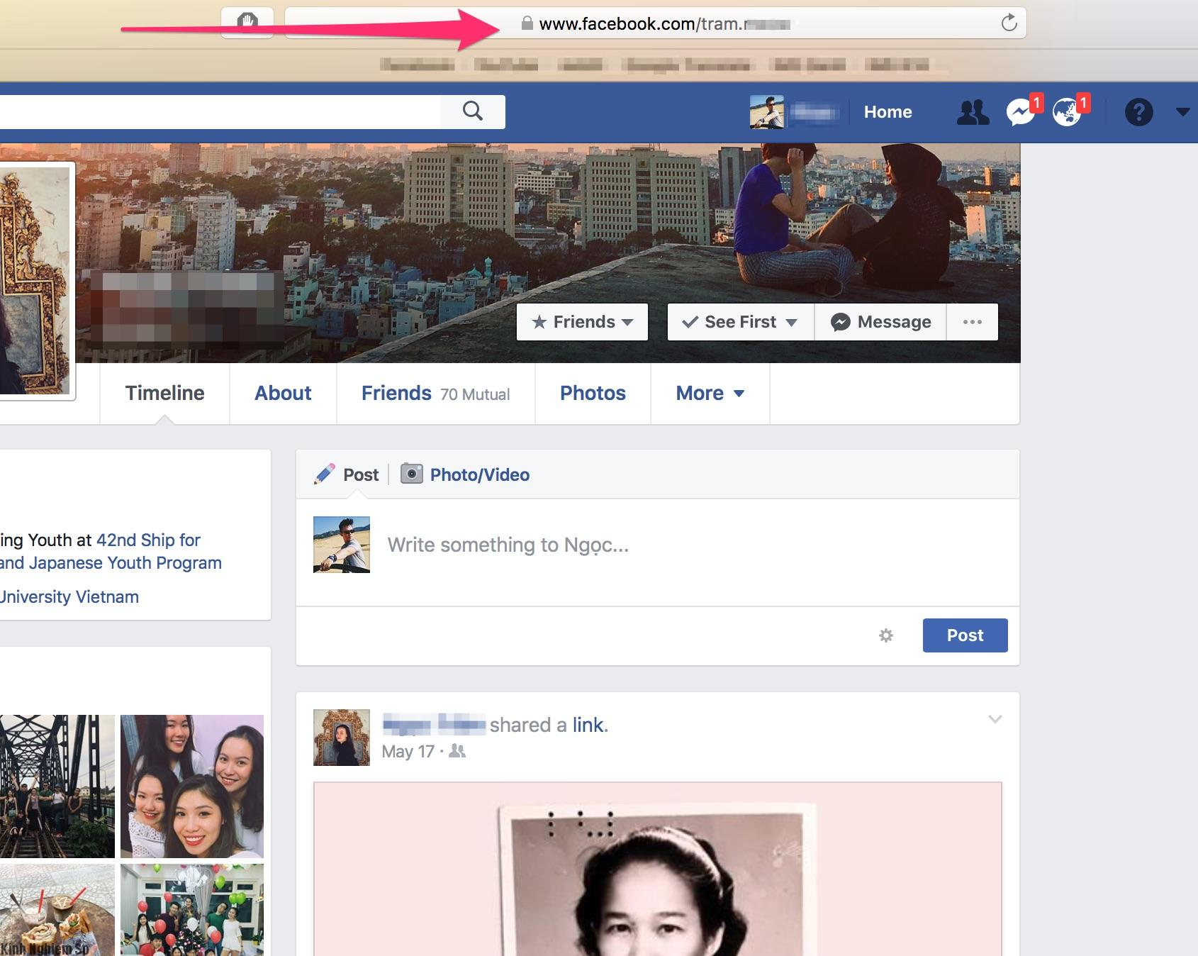 Ứng dụng theo dõi facebook