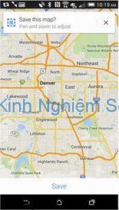 Cách dùng google maps khi không có mạng