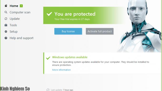 Eset smart security 10 full key bản quyền đến năm 2027