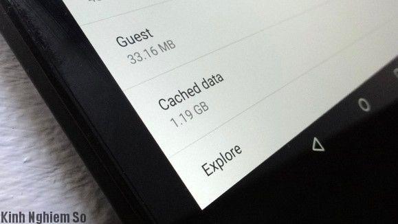 Giải phóng bộ nhớ Android