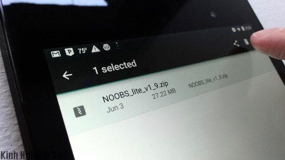 Xóa bộ nhớ Android