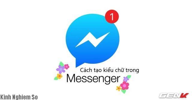 Cách viết chữ trên Facebook Messenger