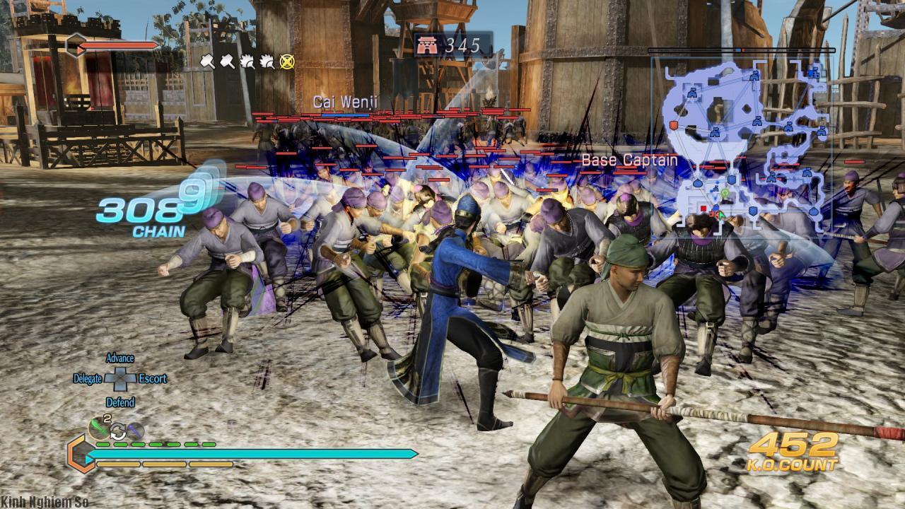Dynasty Warriors 8 Empires ảnh 1