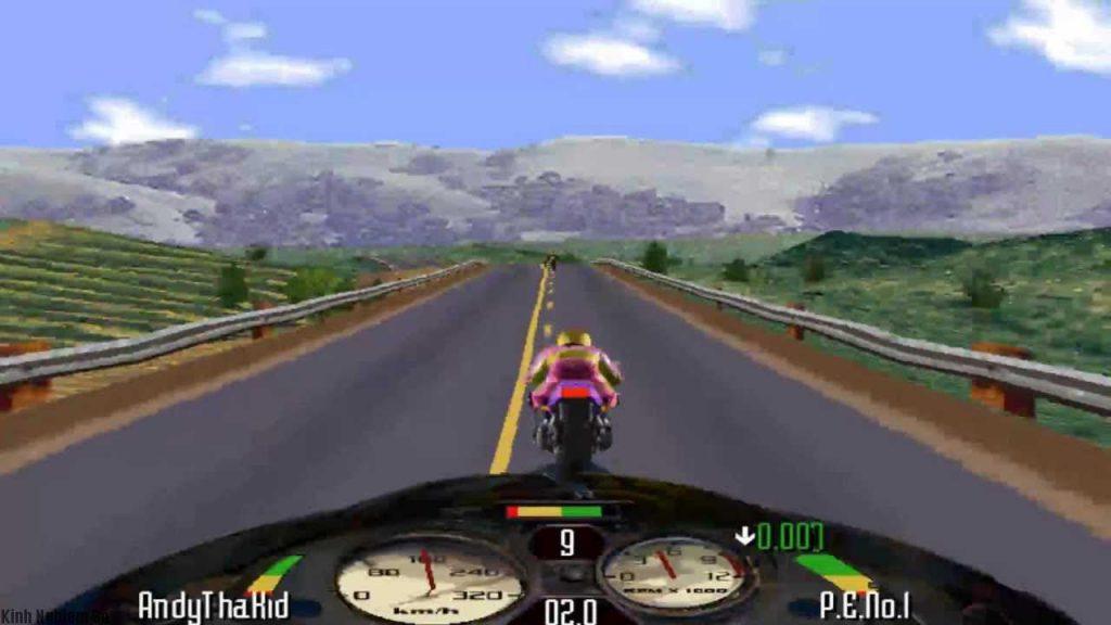 Game đua xe Road Rash