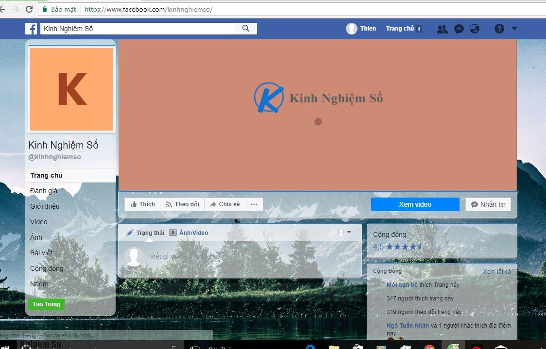 Hướng dẫn thay đổi giao diện facebook khoe với bạn bè