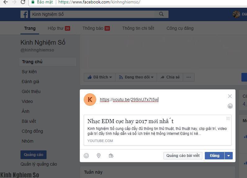 Sửa share link facebook không hiện hình ảnh 1