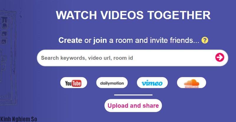 tìm kiếm, bạn nhập vàotên video cần chia sẻ