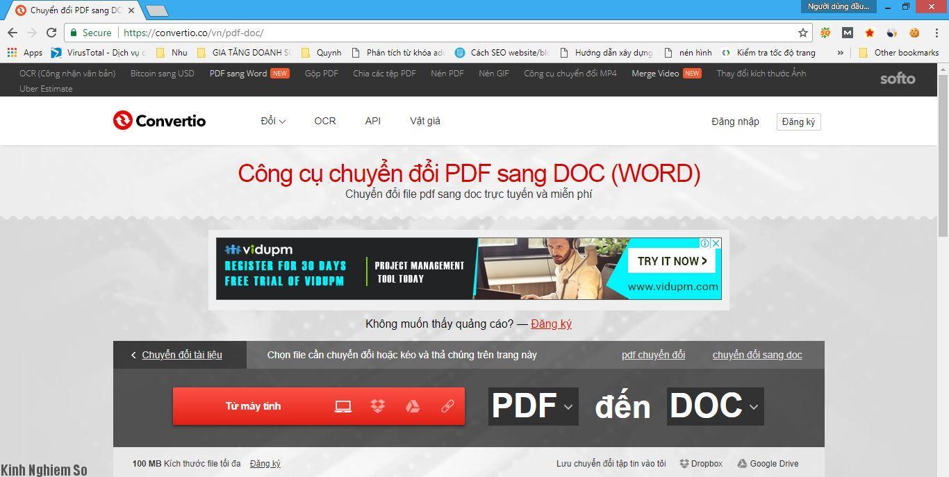 Pdf Sang Word