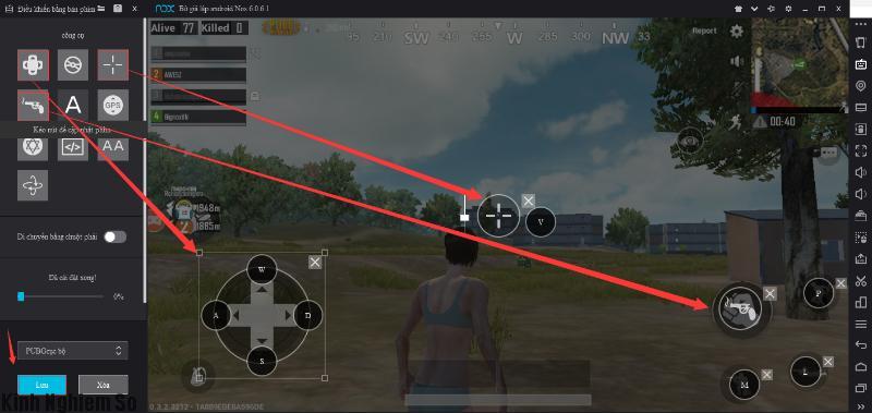 Chỉ dẫn cách chơi game PUBG Mobile trên máy tính PC hình 6