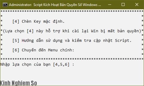 Cách Active Windows 10 lệnh Script kích hoạt vĩnh viễn hình 5
