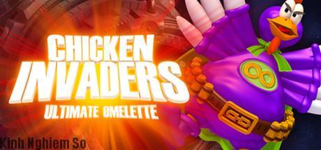 Chicken Invaders Tải Game Bắn Gà Kinh Điển Miễn Phí hình 1