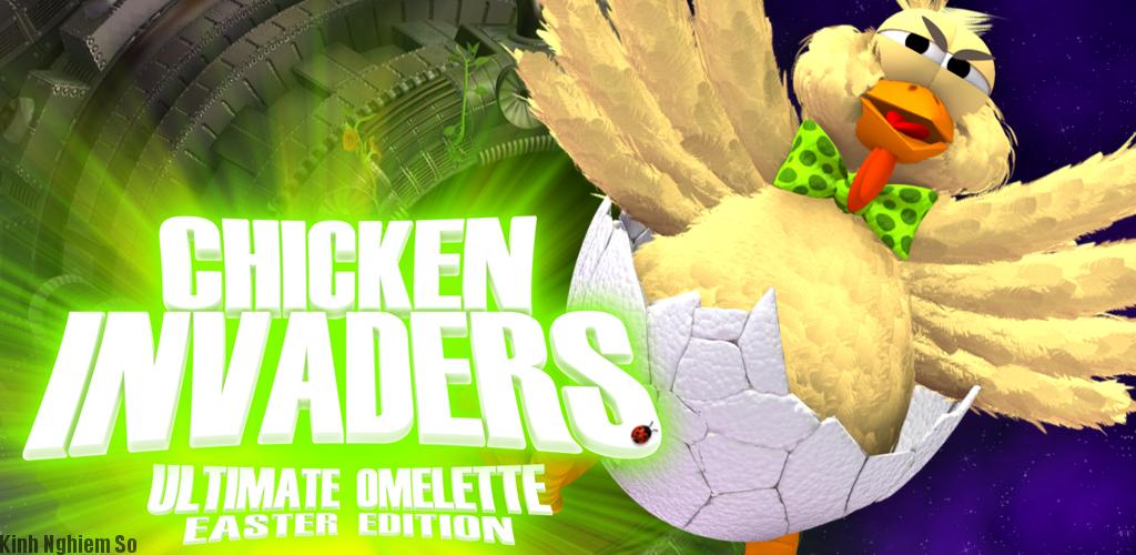 Chicken Invaders Tải Game Bắn Gà Kinh Điển Miễn Phí