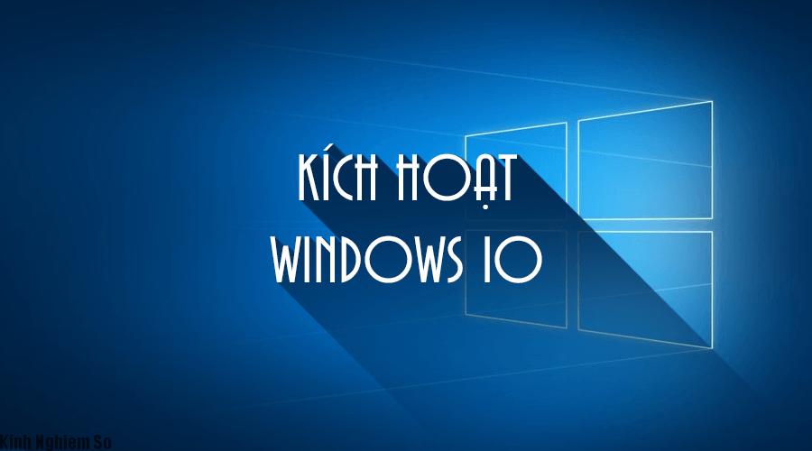 Active Windows 10 bằng lệnh CMD