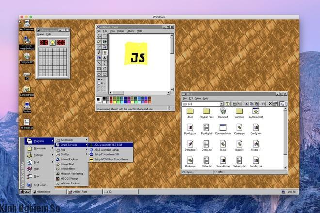 Trải nghiệm Windows 95 trên macOS, Windows và Linux hình 1