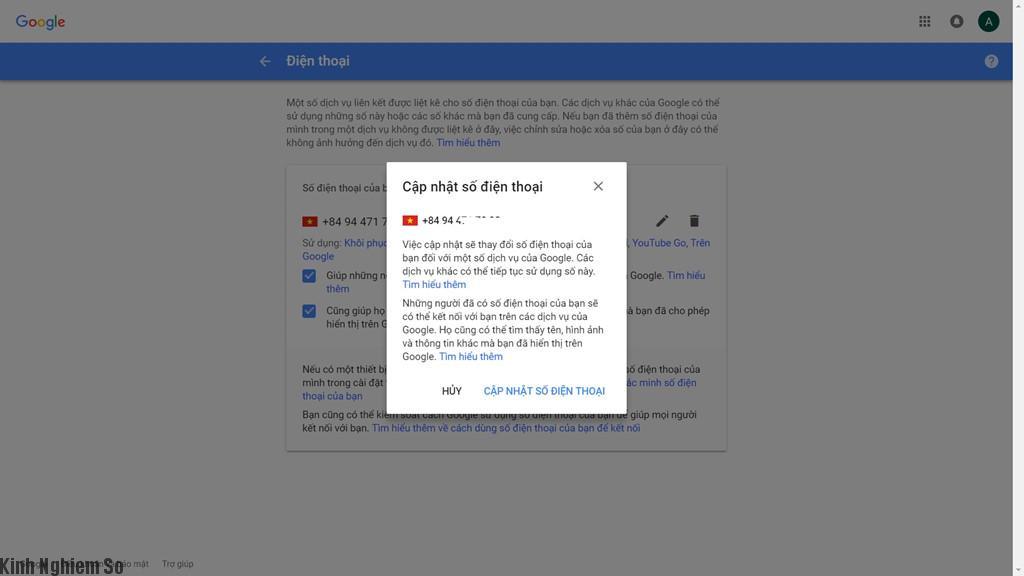 Cách tránh mất Facebook, Gmail khi chuyển SIM 11 số sang 10 số hình 3