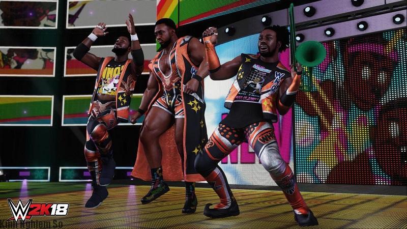 Tải game WWE 2k18 FULL PC miễn phí cực mới hình 2