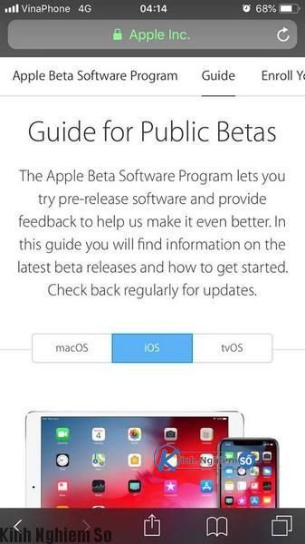 Hướng dẫn cài đặt iOS 12 bản chính thức trước ngày ra mắt 17/09 ảnh 5