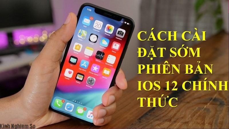 Hướng dẫn cài đặt iOS 12 bản chính thức trước ngày ra mắt 17/09 ảnh 1