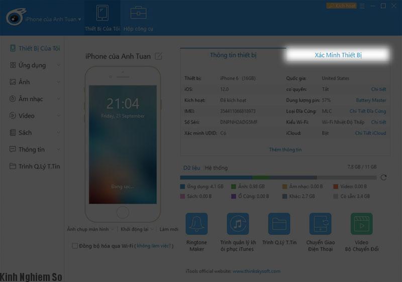 Mẹo cách kiểm tra iPhone đã bị thay linh kiện hay chưa? hình 4