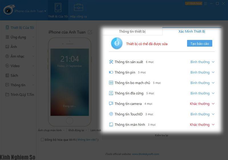 Mẹo cách kiểm tra iPhone đã bị thay linh kiện hay chưa? hình 5