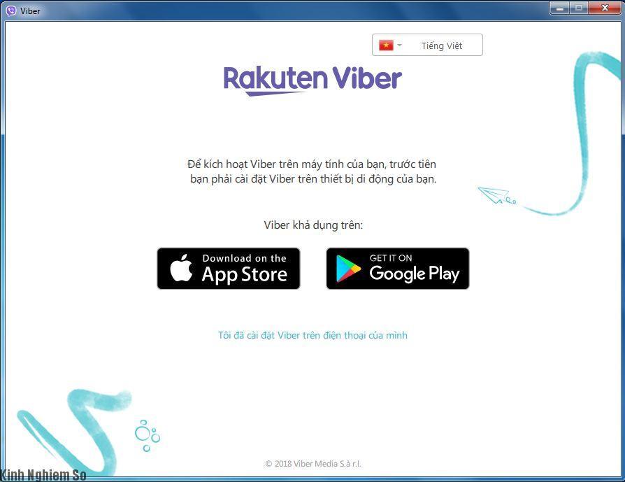 Ứng dụng Viber cho PC, Smartphone hình 2