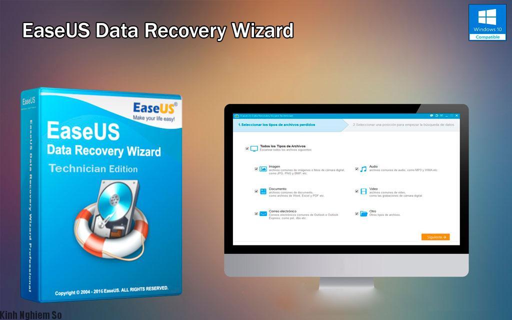 Phần mềm EaseUS Data Recovery Wizard khôi phục dữ liệu hiệu quả nhất hình 4