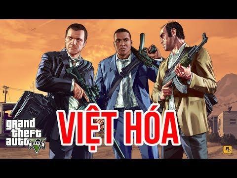 Tải game GTA 5 - Grand Theft Auto V bản Việt hóa Full cho PC hình 1