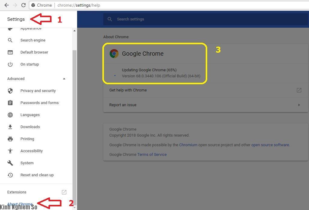 Trình duyệt Chrome Update giao diện mới hoàn toàn cực đẹp hình 1