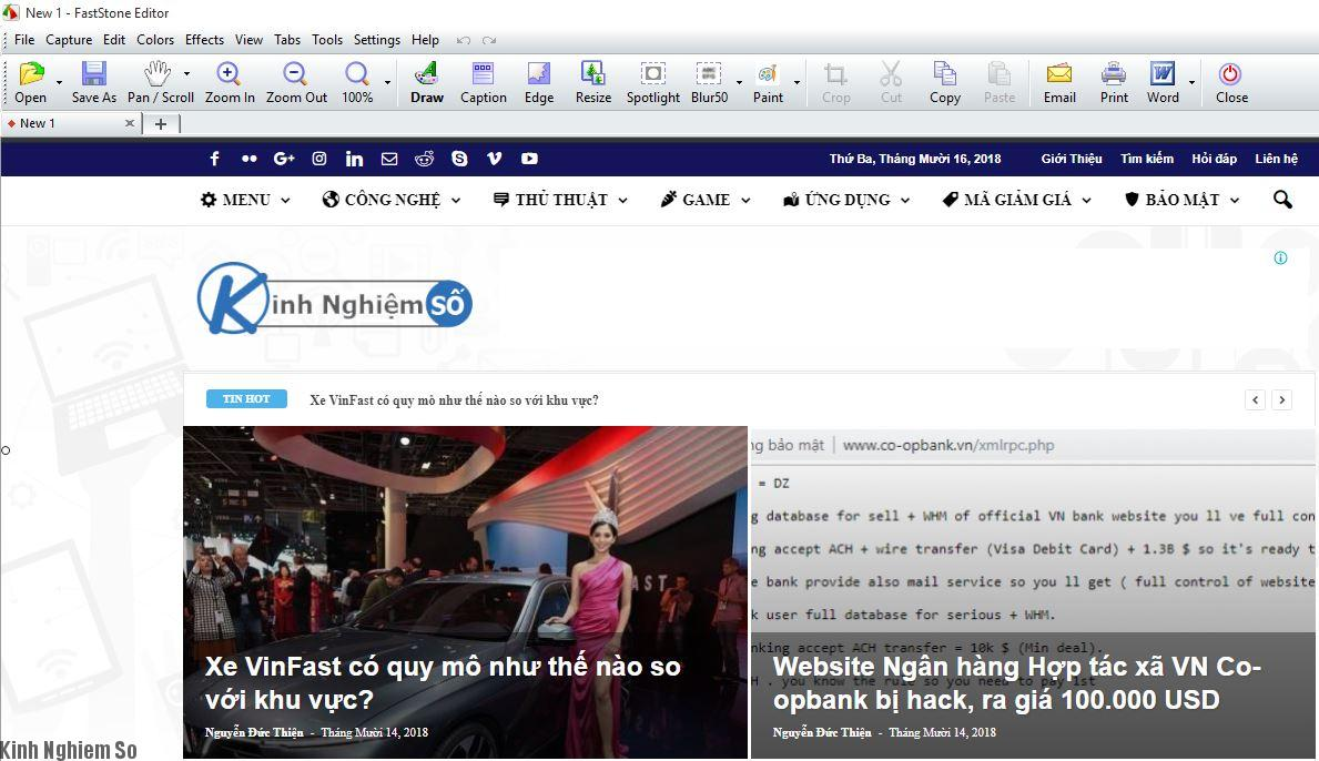 Tải phần mềm Faststone Capture 9.0 Full quay màn hình siêu nhẹ