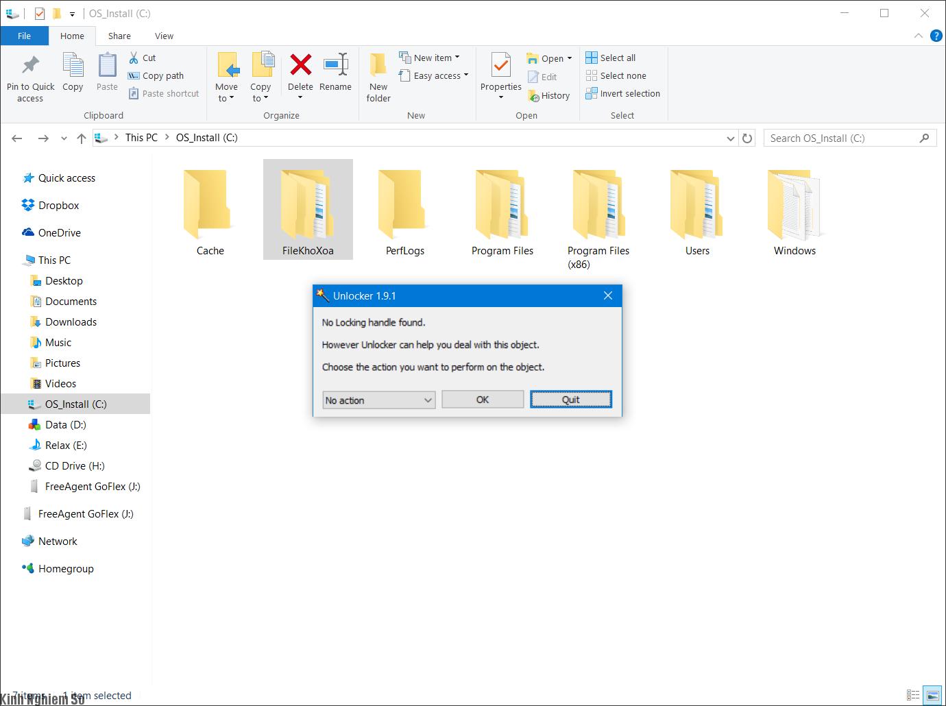 Phần mềm unclocker xóa bỏ các tệp tin cứng đầu nhanh chóng ảnh 2