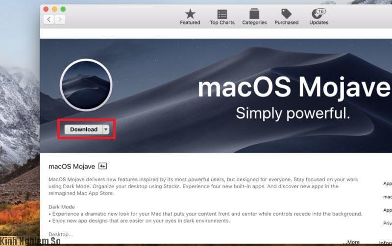 Hệ điều hành macOS 10.14 Mojave