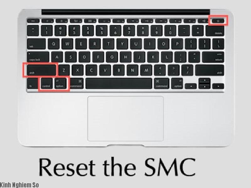 Restart lại SMC tìm ra nguyên nhân macbook không khởi động được