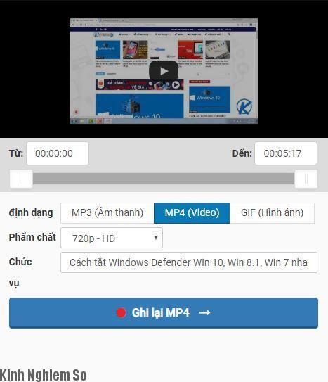 Cách tải Video từ Youtube không cần phần mềm