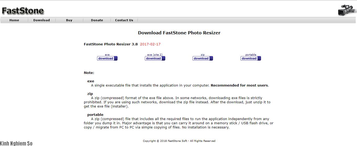 Cách dùng Faststone Photo Resizer sửa ảnh ảnh 1