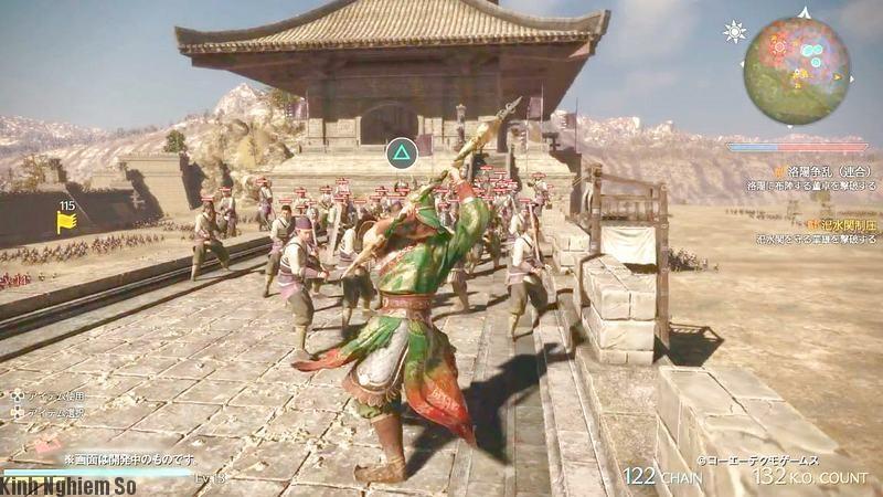 Hình ảnh trong game kinh điển dynasty warriors 9 ảnh 3