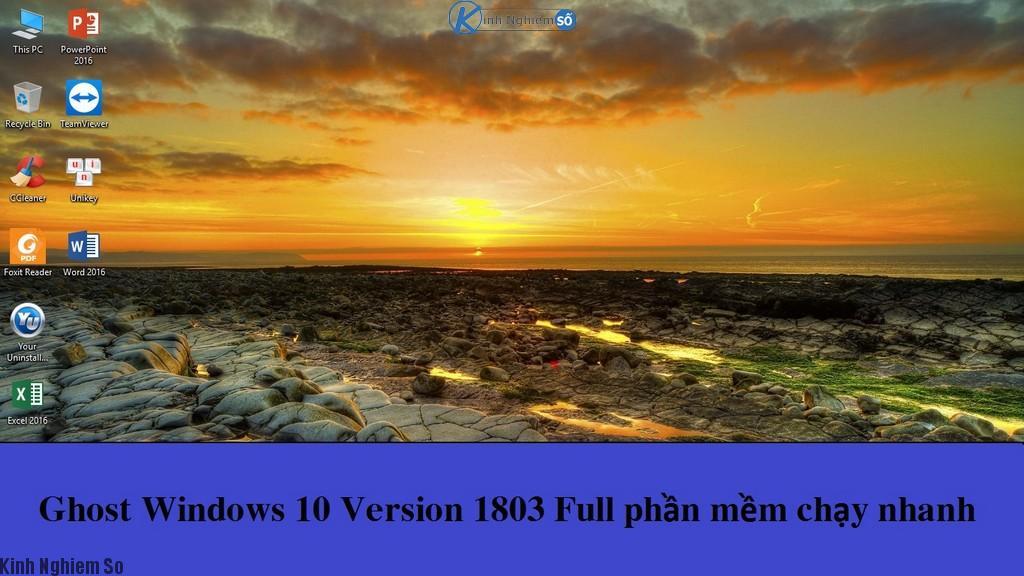Ghost Windows 10 Version 1803 ảnh 1