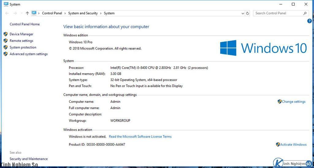 Ghost Windows 10 Version 1803 ảnh 5
