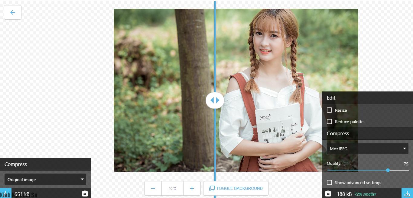 Hướng dẫn cách nén ảnh online công cụ mới của Google cực kì đơn giản ảnh 4