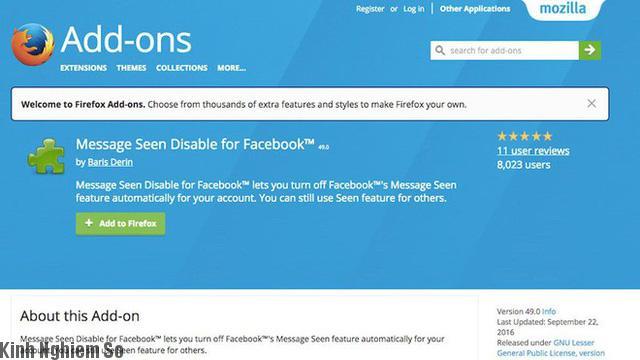 Hướng dẫn mẹo đọc tin nhắn Facebook mà không hiển thị đã xem hình 4