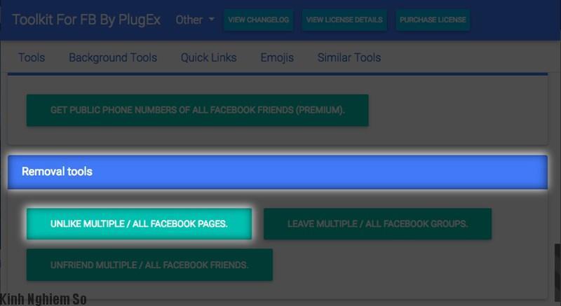 Hướng dẫn Unlike hàng chục Fanpage trên Facebook cực kì đơn giản trong nháy mắt ảnh 3