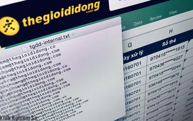 Thegioididong vừa bị Hack hơn 5 triệu tài khoản bị lộ thông tin ra ngoài