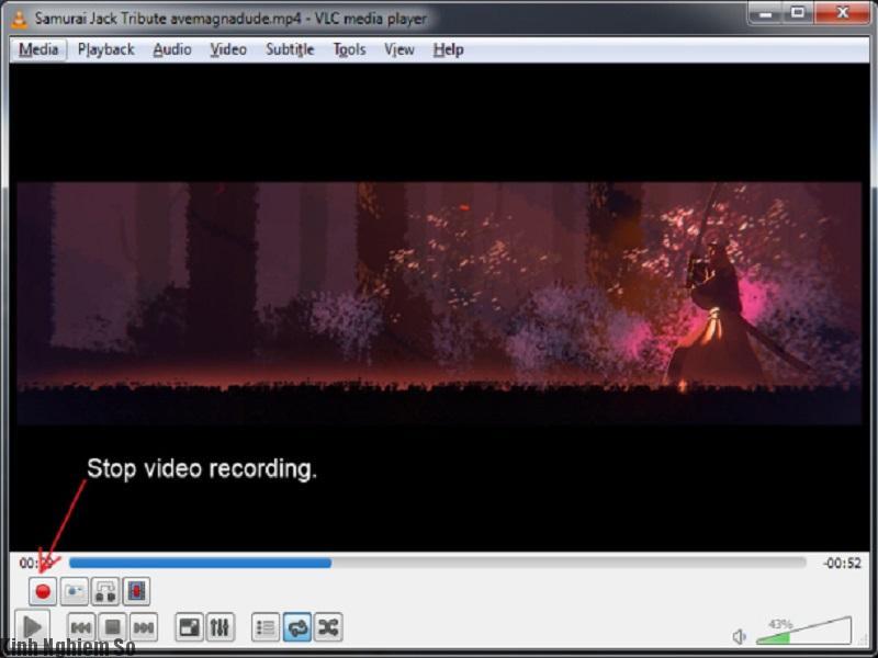 Phần mềm vlc media có tính năng thêm hiệu ứng vào video