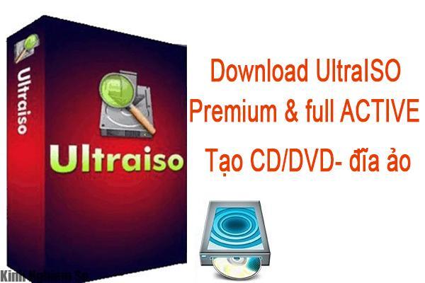 Tải phần mềm UltraISO tạo đĩa ảo chuyên nghiệp