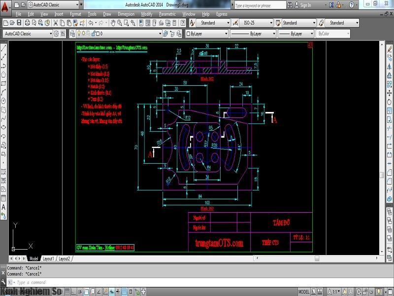 Autocad - Phần mềm hỗ trợ vẽ kỹ thuật đáng sử dụng