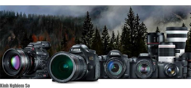 Tổng hợp các dòng máy ảnh Canon được yêu thích nhất hình 1