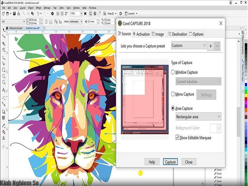 Tính năng mới khi tải CorelDraw 2018 thiết kế đồ họa chuyên nghiệp