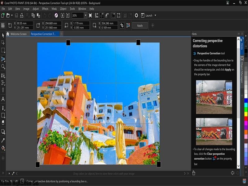 Tính năng mới khi tải CorelDraw 2018 thiết kế đồ họa chuyên nghiệp hình 1