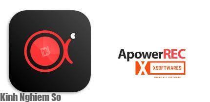 Phần mềm ApowerREC quay phim chụp ảnh màn hình chuyên nghiệp hình 1