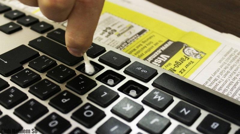 Cách xử lý khắc phục bàn phím bị hư hỏng hình 2